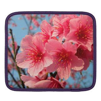 Fleurs de cerisier housse iPad