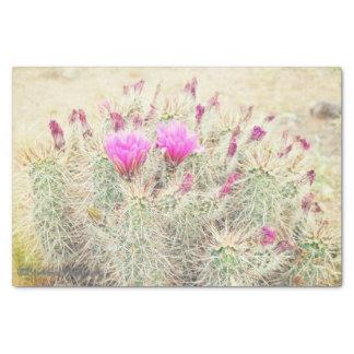 fleurs de désert papier mousseline