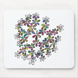 Fleurs de mai tapis de souris