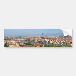 Fleurs de ressort à Florence Autocollant De Voiture