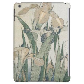 Fleurs d'iris et sauterelle, c.1830-31