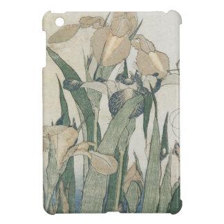 Fleurs d'iris et sauterelle, c.1830-31 coques iPad mini