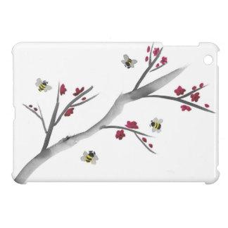 Fleurs et abeilles coque pour iPad mini