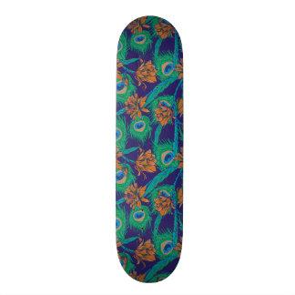Fleurs et plumes plateaux de skate