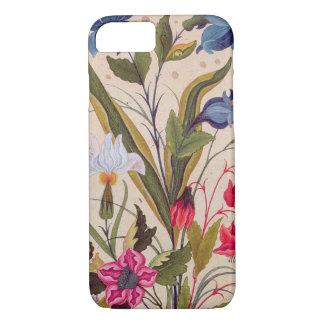 Fleurs exotiques avec l'art vintage floral coque iPhone 7