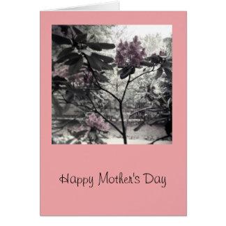 Fleurs pour la maman, carte du jour de mère