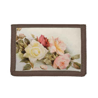 Fleurs vintages de roses de jardin