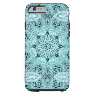 Flocon de neige d'Aqua Coque Tough iPhone 6