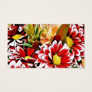 Flora-kunst-persoonlijke Zaken Card_ Visitekaartjes