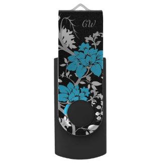 Floral moderne personnalisé clé USB