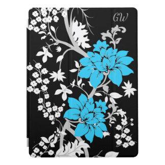 Floral moderne personnalisé protection iPad pro