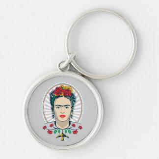 Floral vintage de Frida Kahlo | Porte-clés