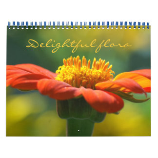 flore delighful - calendrier 2018