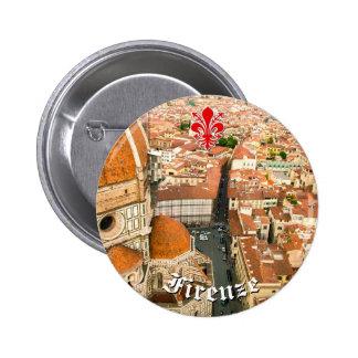 Florence, Italie (Duomo) Badge Rond 5 Cm