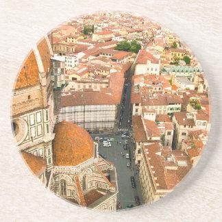 Florence, Italië (Duomo) Zandsteen Onderzetter