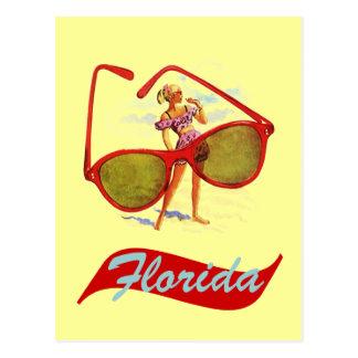 Floride vintage la Floride Fla de carte postale ré