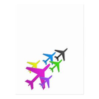 flotte giet d'avion cadeaux les enfants VLIEGTUIG Briefkaart