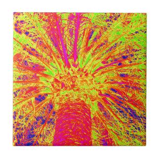 fluorescente palm tegeltje