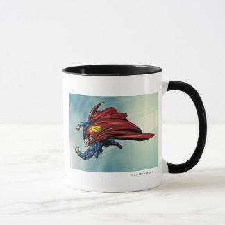 Flys de Superman avec le cap Mug