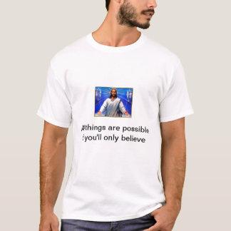 Foi et croyance de m de T-shirt