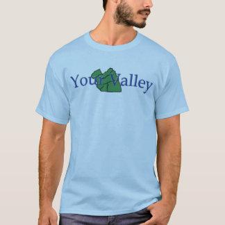 Fonctionnaire votre T-shirt de vallée