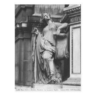 Fontaine de Moliere, comédie légère, 1844 Carte Postale