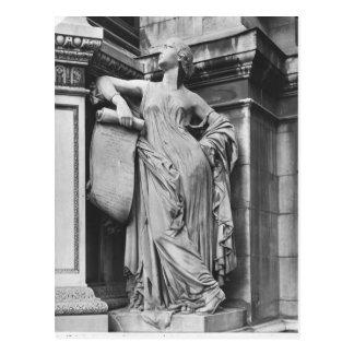 Fontaine de Moliere, comédie sérieuse, 1844 Carte Postale