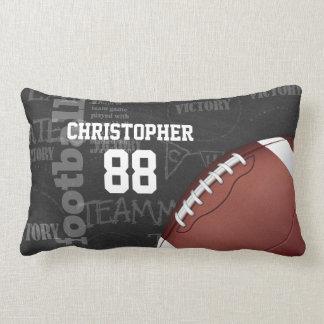 Football américain personnalisé de tableau oreillers