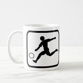 Footballer pro mug blanc