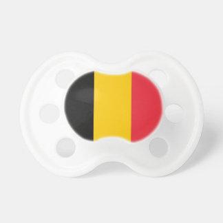Fopspeen met vlag van België