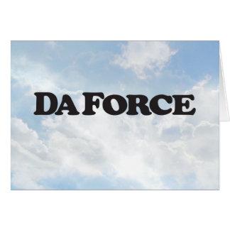 Force du DA - carte de voeux