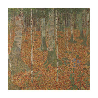 Forêt de bouleau par Gustav Klimt, art vintage