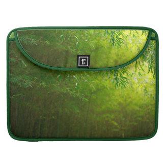 Forêt en bambou poche pour macbook pro