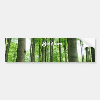 Forêt en Belgique Adhésif Pour Voiture