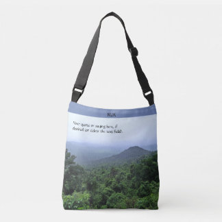 Forêt tropicale brumeuse sac