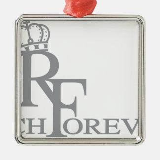 Forever_11.ai riche ornement carré argenté