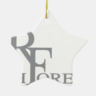 Forever_11.ai riche ornement étoile en céramique