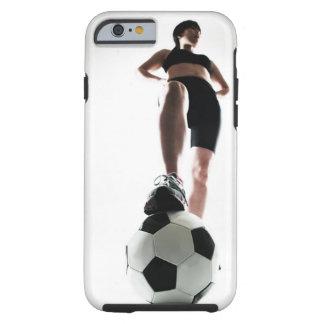 formation de jeune femme, le football coque iPhone 6 tough