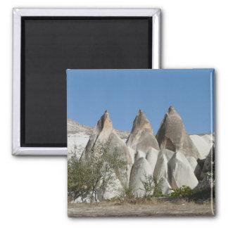 Formations de roche de tuf, Cappadocia, Turquie Aimant