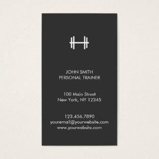 Forme physique moderne/carte de visite personnel cartes de visite