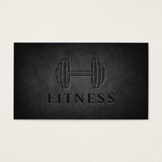 Forme physique personnelle d'entraîneur d'haltère cartes de visite