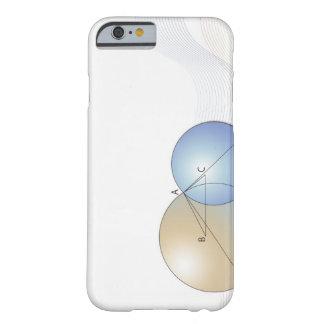 Formule, graphique, symboles 7 de maths coque iPhone 6 barely there