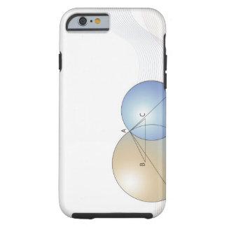 Formule, graphique, symboles 7 de maths coque tough iPhone 6