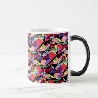 Fou pour regarder mug magique
