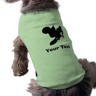 Fouet de motocross t-shirts pour animaux domestiques