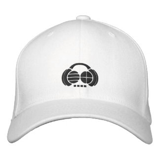 Four4ths - avant/côté noirs de logo chapeaux brodés