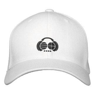 Four4ths - avant/côté noirs de logo casquettes de baseball brodées