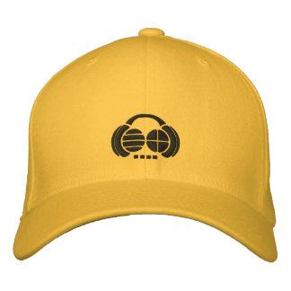 Four4ths - Logos brodés par noir sur le chapeau lé Casquettes Brodées