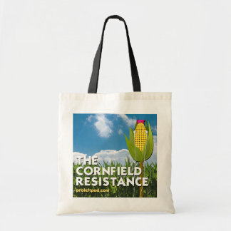 Fourre-tout - la résistance de champ de maïs tote bag