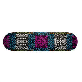 Fourrure animale 21 d'art skateboards personnalisables